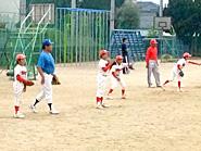 野球教室を開催