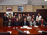 知事との懇談会女性議員の会