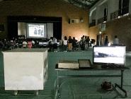地元東和中学校70周年記念「タイムカプセル」開封