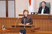 二月定例議会開会