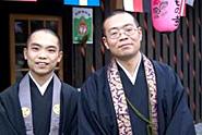 かつらぎ町新城の童楽寺訪問