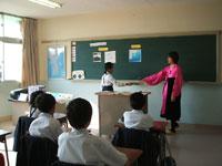 朝鮮初中級学校公開授業と交流会